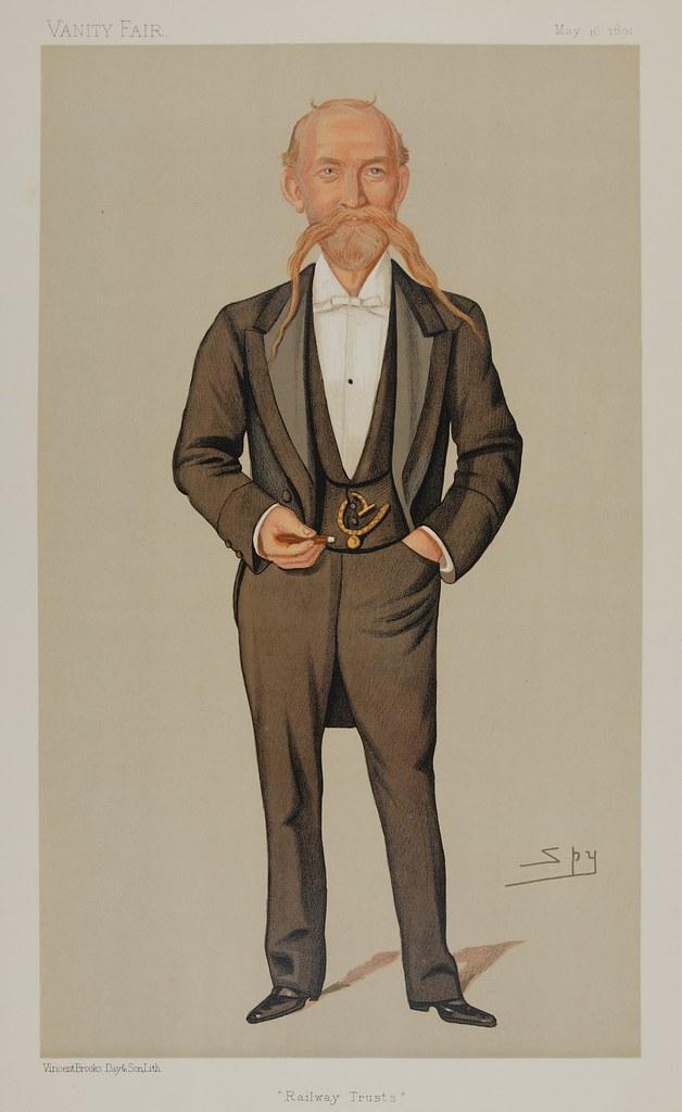 Captain Francis Pavy Quot Railway Trusts Quot Artist Ward Lesli Flickr
