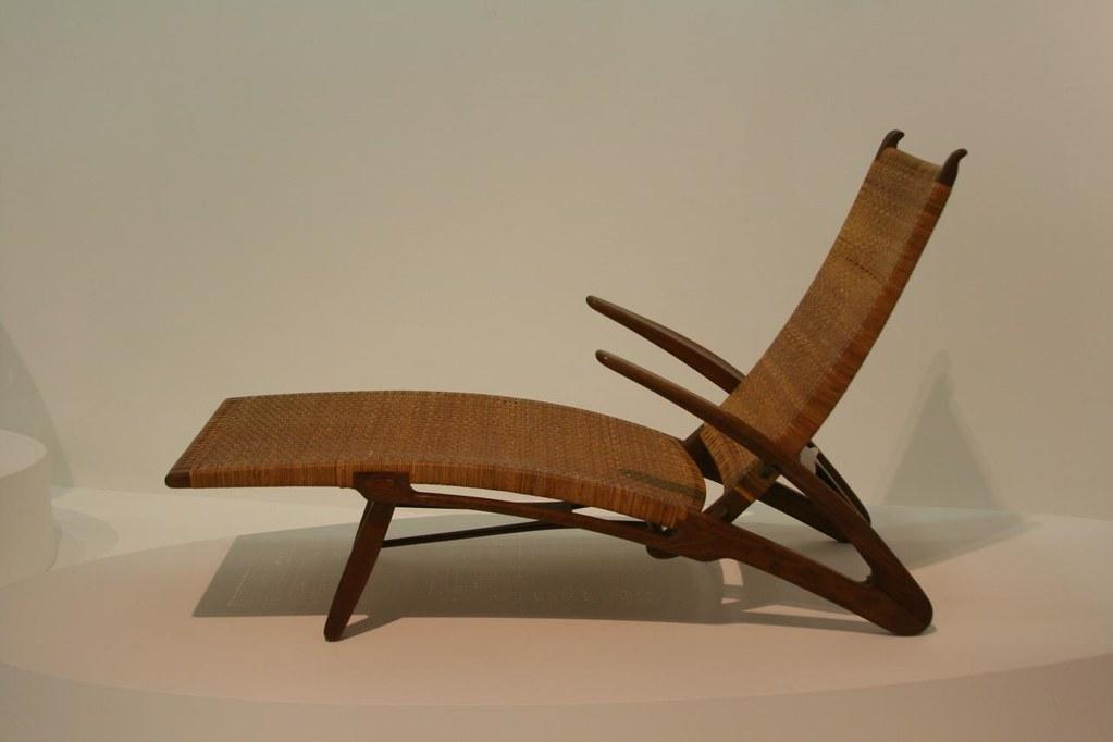 Hans Wegner chair in Pompidou, Paris