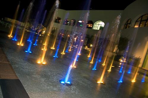 Walk-through Fountain
