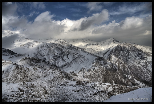 winter light sunset sun mountain snow rock clouds canon landscape high asia iran hiking hill dramatic tehran range hdr tochal photomatix tonemapped 3exp tthdr aplusphoto eos40d canonefs1785f456isusm csabx daypacking