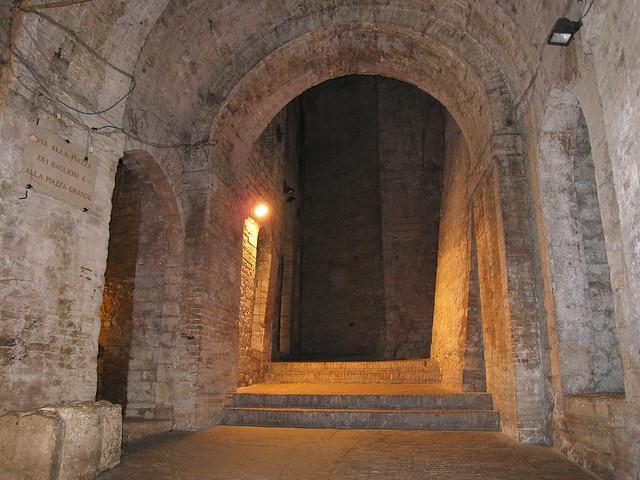 Perugia (Italy) - Rocca Paolina