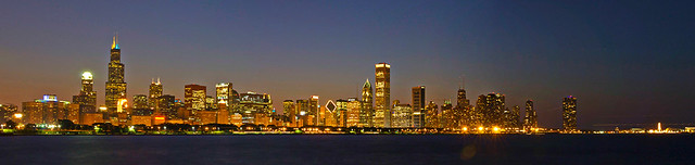 Chicago Skyline Panorama