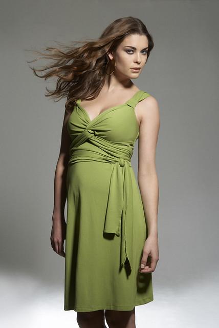 cc1d891e30ab Maternity Dress: Empire Wrap Dress | One of those irresistib… | Flickr