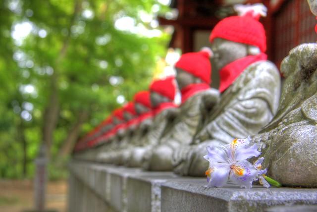 Jizo at Peace- Mt. Takao Japan
