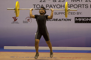 23 May 2010 - Weightlifting Validation Exercise | by Singapore 2010 Youth Olympic Games