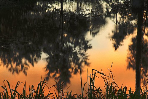 sunset water photoshop reflections hdr decade gympie