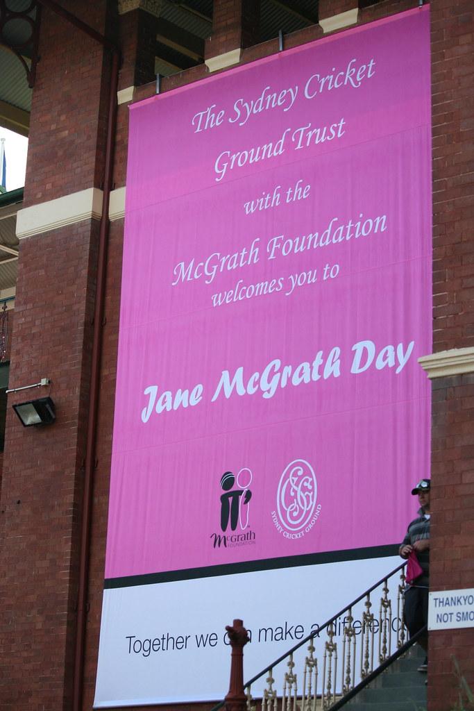 Jane McGrath Day - Day 3 at the SCG