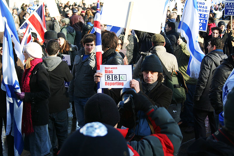 Pro Israel Protest - London, January 11 2009