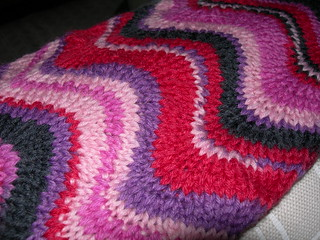 Chevron Scarf Detail March 2009 | by whirlstrom