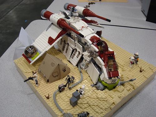 crashed republic gunship