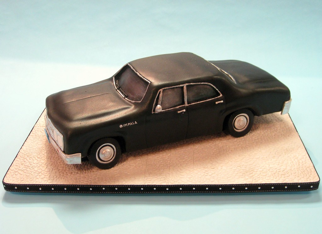 All Sizes Classic Chevy Impala Cake Flickr Photo Sharing