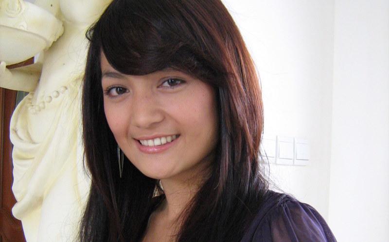 Foto Imel Putri Cahyati Pemeran Sinetron Anak Membawa Berkah