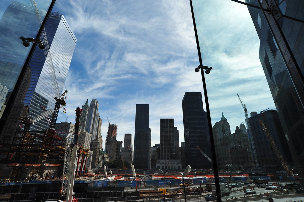 "WTC ""Freedom Tower"" construction site   Asterio Tecson ..."
