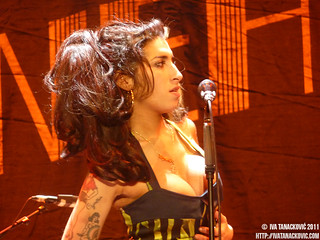 Amy Winehouse live in Belgrade | by Iva T.