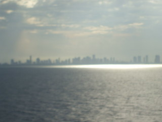 A Hazy Departure from Port Miami | by Michel Curi