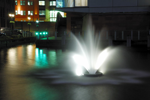 Fountain @ The Bridgewater Hall