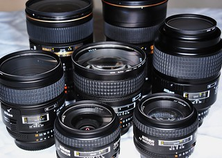 Nikon Lens Collection   by Cheddarcheez