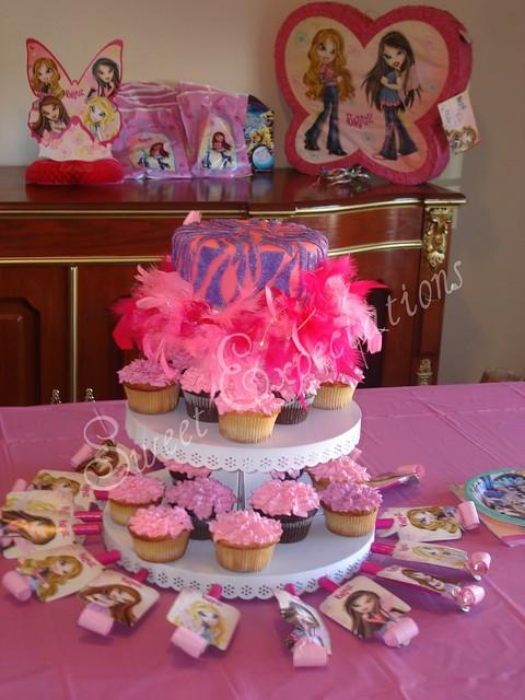 Prime Elyces 6Th Birthday Cake Bratz Themed Birthday Party Flickr Personalised Birthday Cards Akebfashionlily Jamesorg