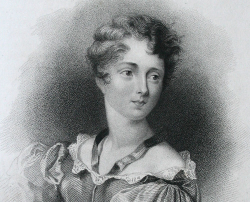 Lady Caroline Lamb, wife of William Lamb, later Prime Minister