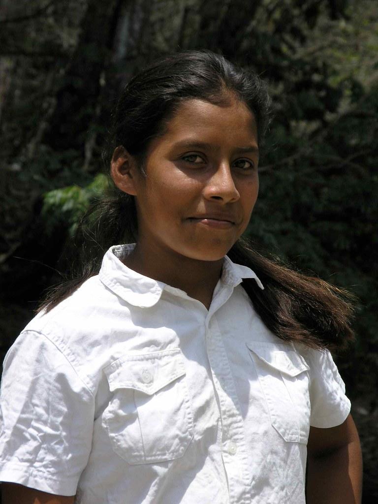 Pretty Girl Muchacha Bonita Río Olama Boaco Nicaragua