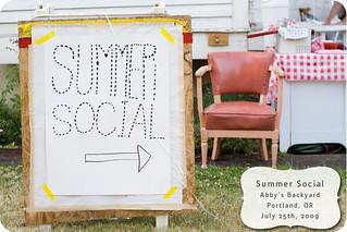 Summer Social 7/25