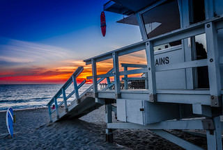 Sunset at Manhatten Beach | by Sascha Danielsen