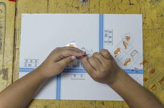 Taller Niños @ Escuela Lazarus   by ecosistema urbano