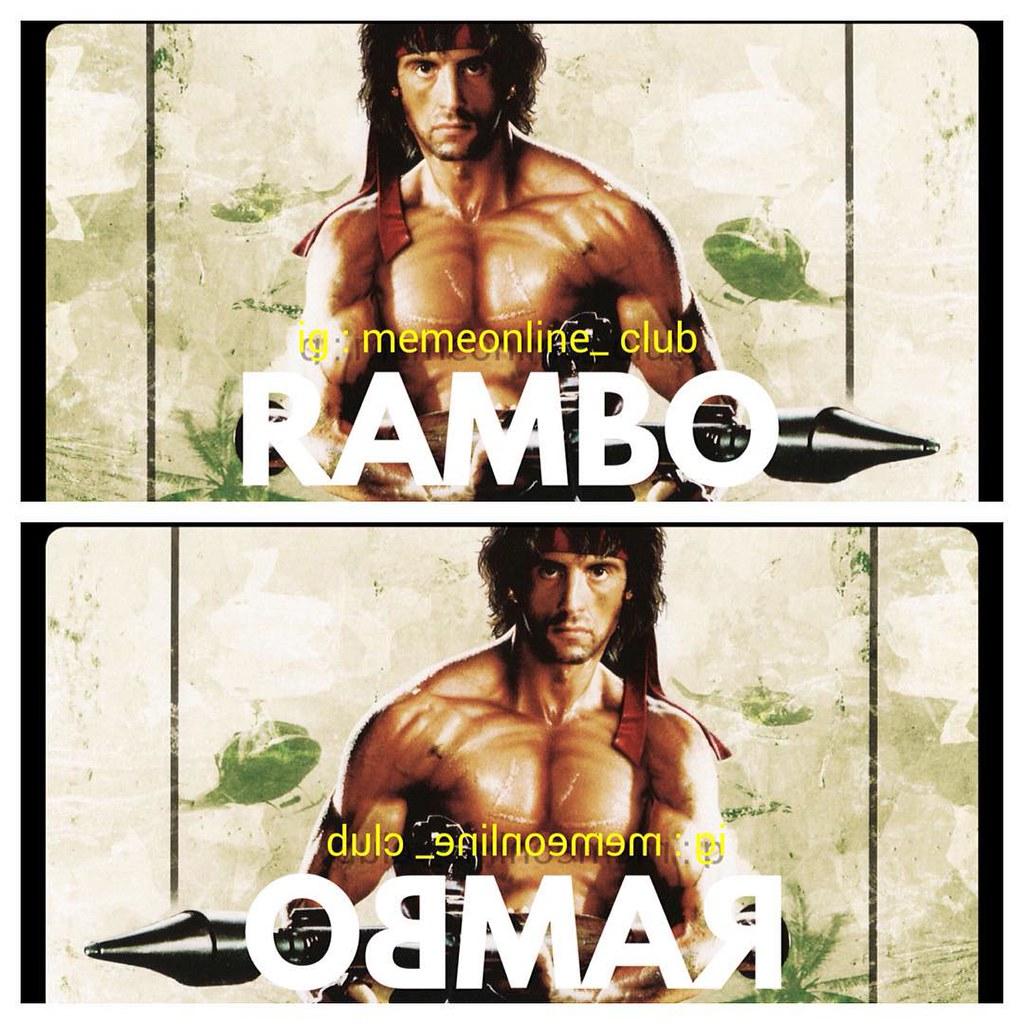 Rambo Slyvesterstallone Lawak Kocak Humor Meme Meme