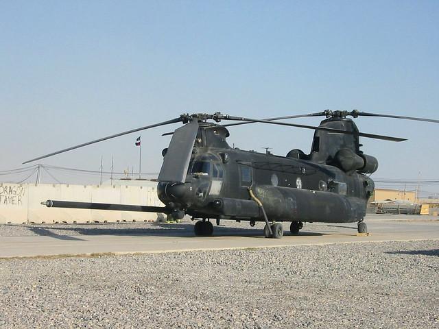 MH-47G Chinook 05-03754/54 160th SOAR, U.S.ARMY. Kandahar, Afghanistan. January 2011.