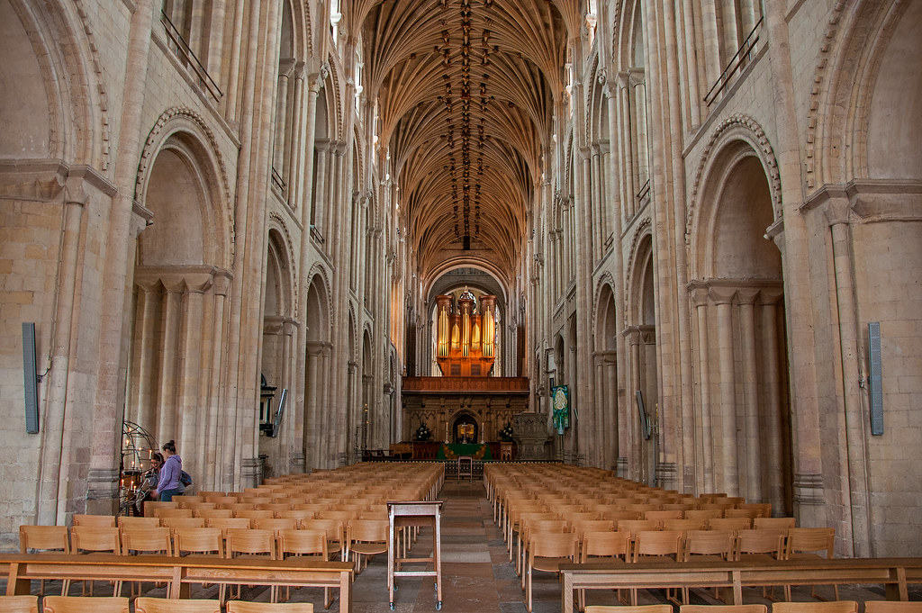 Norwich Cathedral interior | bvi4092 | Flickr