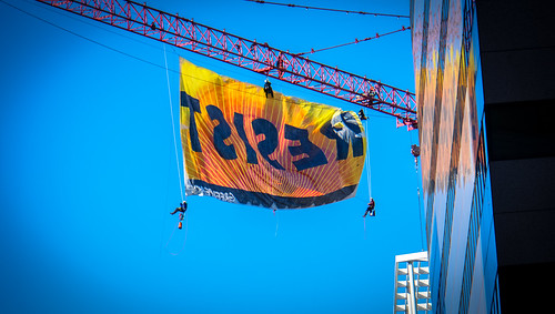 2017.01.25 Resist, Greenpeace, Washington, DC USA 00180 | by tedeytan