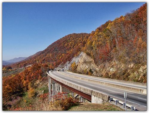 road autumn fall virginia highway viaduct explore soe bigstonegap blueribbonwinner us23 wisecounty goldstaraward rubyphotographer photographersworldbestfriends