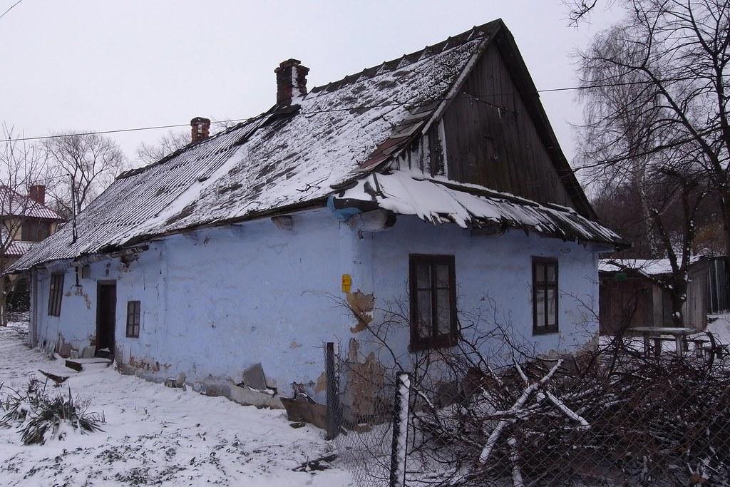 Mały niebieski domek / Little blue cottage