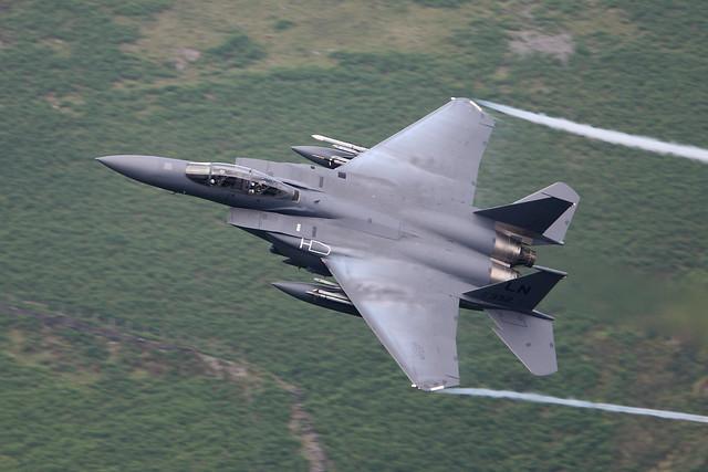 USAF F-15E Strike Eagle Corris