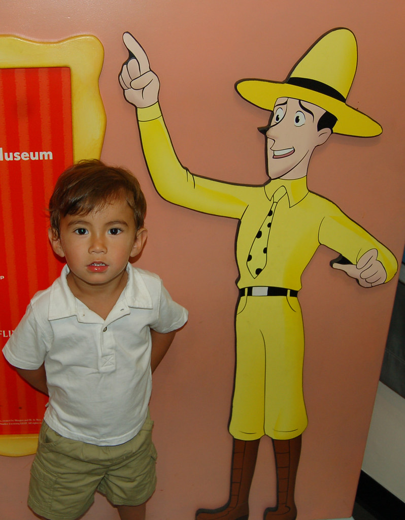 A Little Monkey And The Man In The Big Yellow Hat Children Flickr