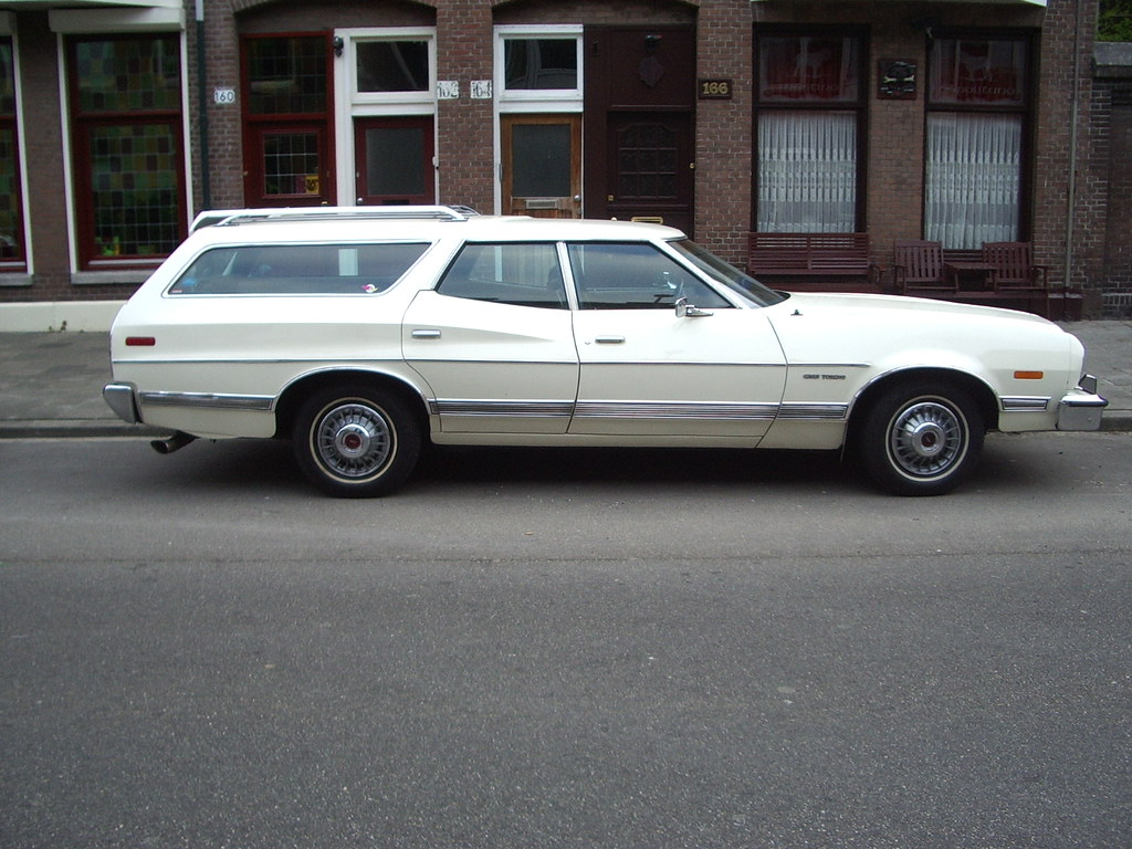 1973 Ford Gran Torino Wagon | Picture taken by my dad