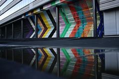 colourful gate, Ministerie van Financiën