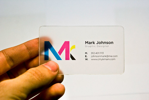 My New Business Card | by Mark Thomas Johnson