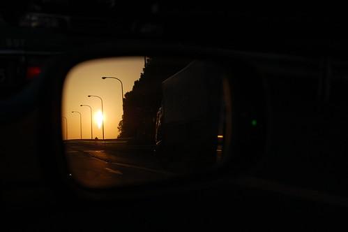 sunset car 1931 50mm tokyo ana nikon f14 nikkor 夕日 jal hanedaairport tokyointernationalairport 羽田空港 d40 東京国際空港 京浜島 つばさ公園