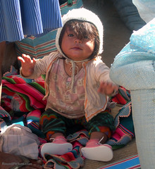 Bolivia - Sucre - Tarabuco Market - Baby | by RoundPicture.com