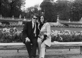 Me and friend, Paris, 1967