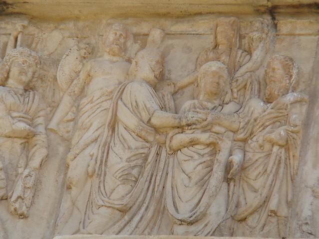 Arco de Septimio Severo Leptis Magna Libia 15