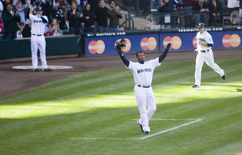 Griffey Waves Goodbye | by Paul T. Marsh/PositivePaul