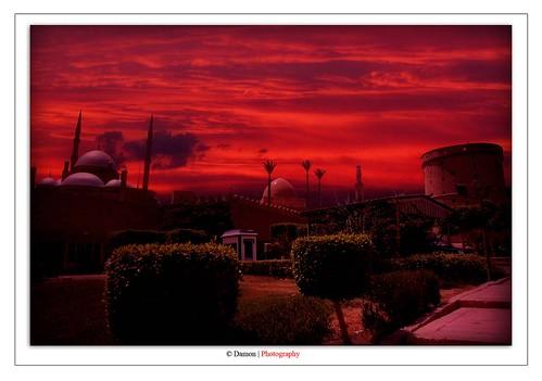 africa trip travel sunset red 2 summer sky cloud sun texture set clouds digital photoshop photography nikon creative egypt suit textures cairo cs 1855mm nikkor polarizer damon 2009 circular matte hoya in d40 nikond40 qairo