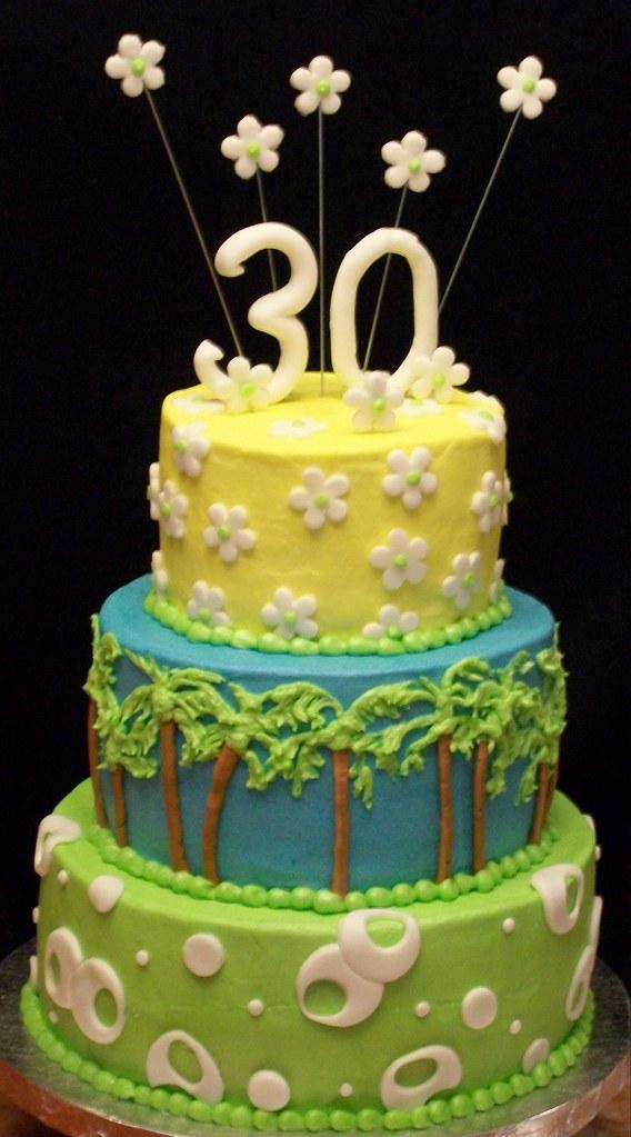 Phenomenal Palm Tree Cake Palm Tree Cake Cakes By Andrea Flickr Birthday Cards Printable Trancafe Filternl