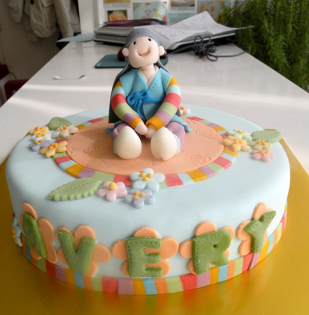 1st Birthday Cake (Korean Style) | Kim Hyeyoung | Flickr
