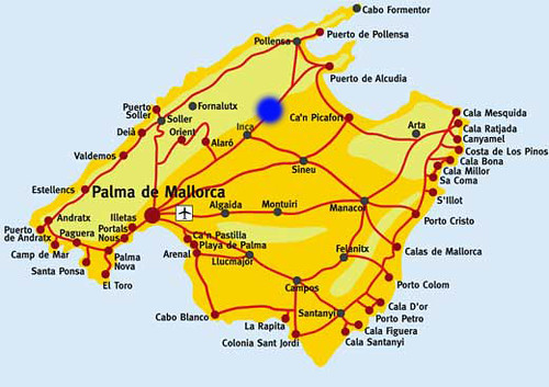 S Illot Mallorca Karte.Mallorca Finca Son Pons Karte Die Liebevoll Restaurierte F Flickr