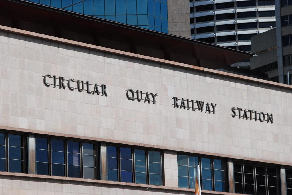 Circular Quay Railway Station by Tim Pruyn
