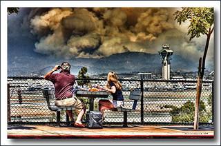 Station Fire, Los Angeles   by Jaimito Cartero