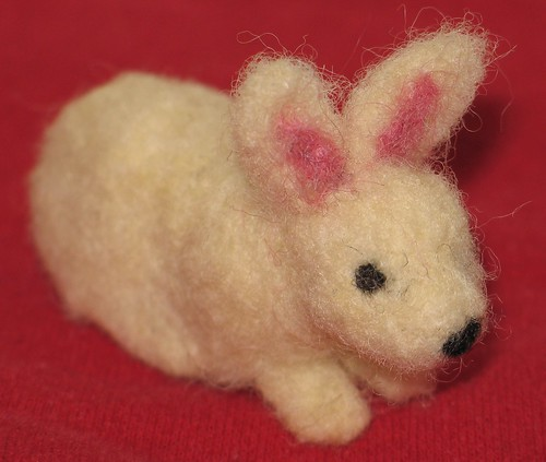 Felted Bunny | by littlesisterhandmade